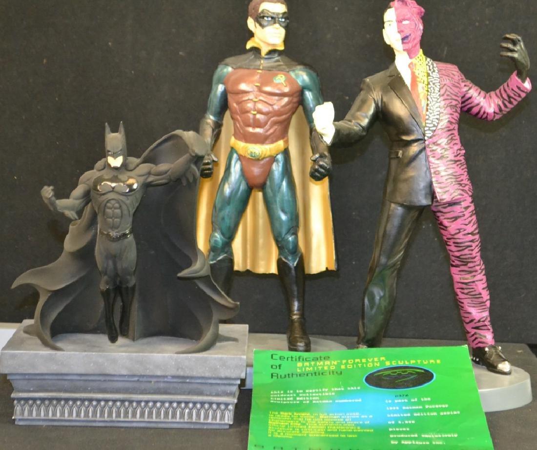 1995 Robin & Joker & 1994 Batman Resign Figures