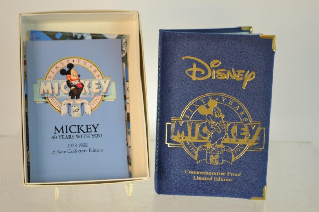 Disney Sixty Years Mickey .999 Silver Proof Coin