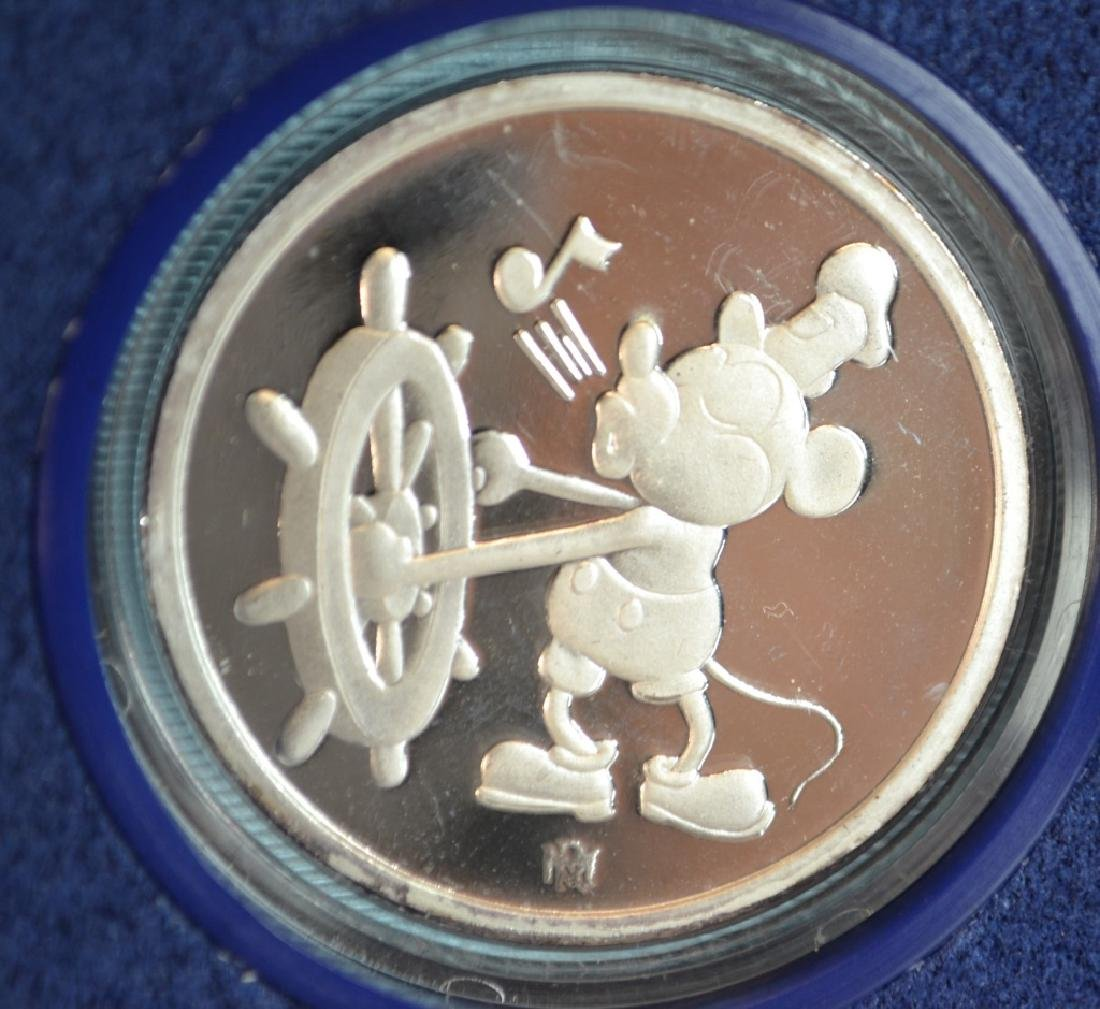 Disney Sixty Years Mickey .999 Silver Proof Coin - 2
