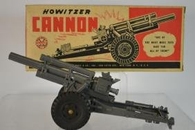 Marx Lumar Vintage Plastic Toy Howitzer