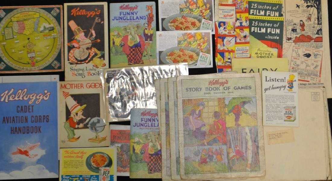 Large Collection of Kellogg's Premiums/ Ephemera
