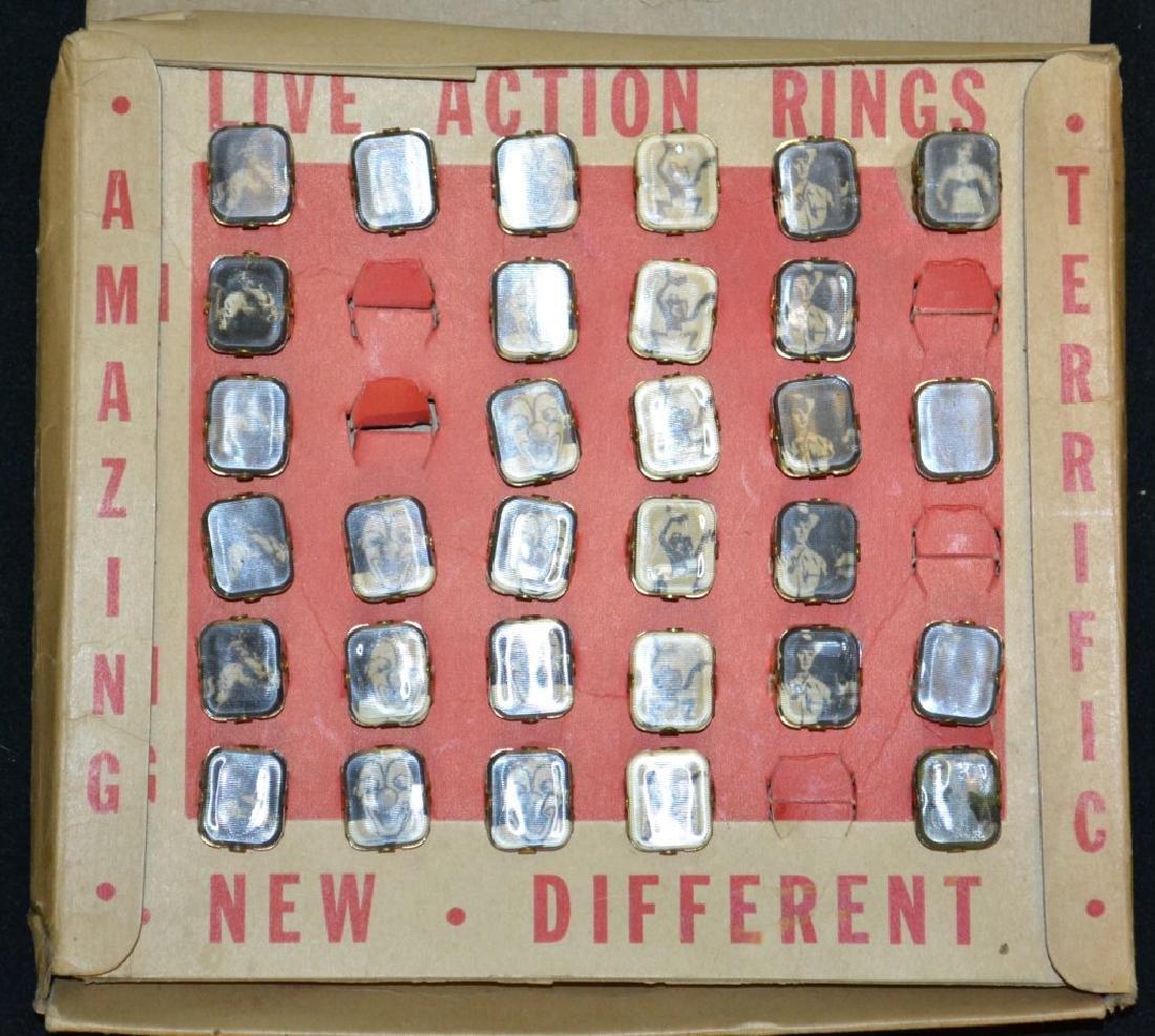 1940's/50's Era Rings in Original Display Box