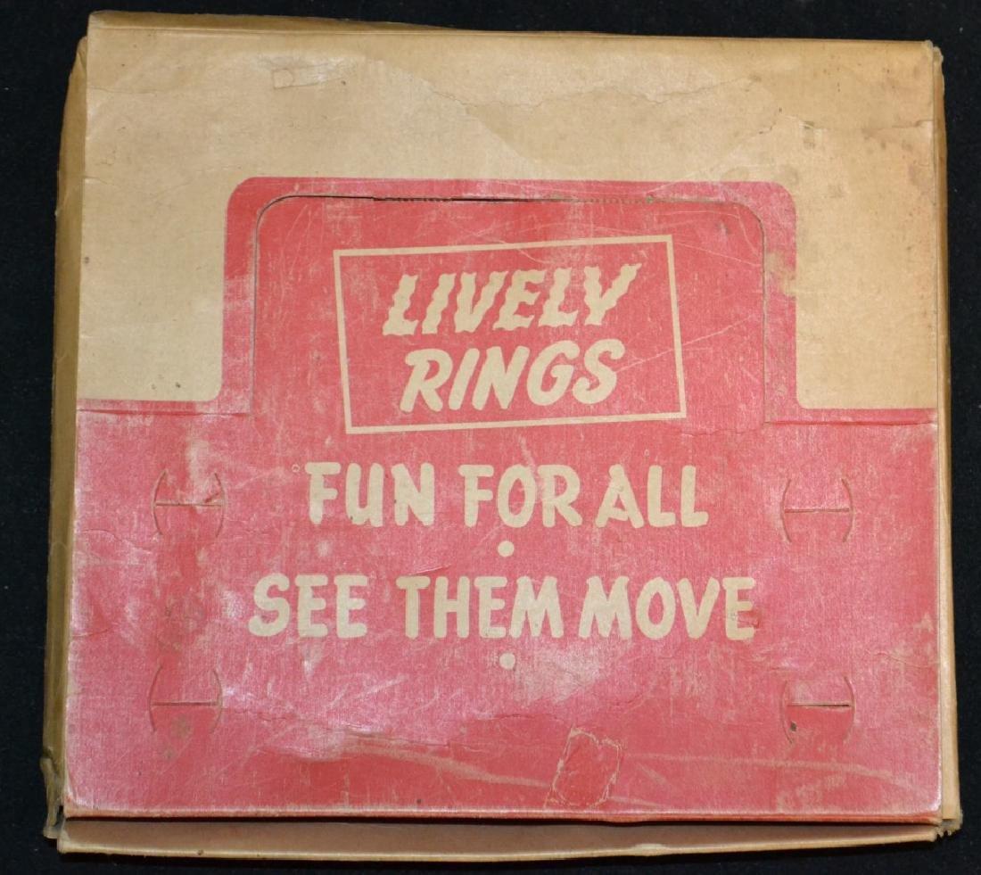 1940's/50's Era Rings in Original Display Box - 2