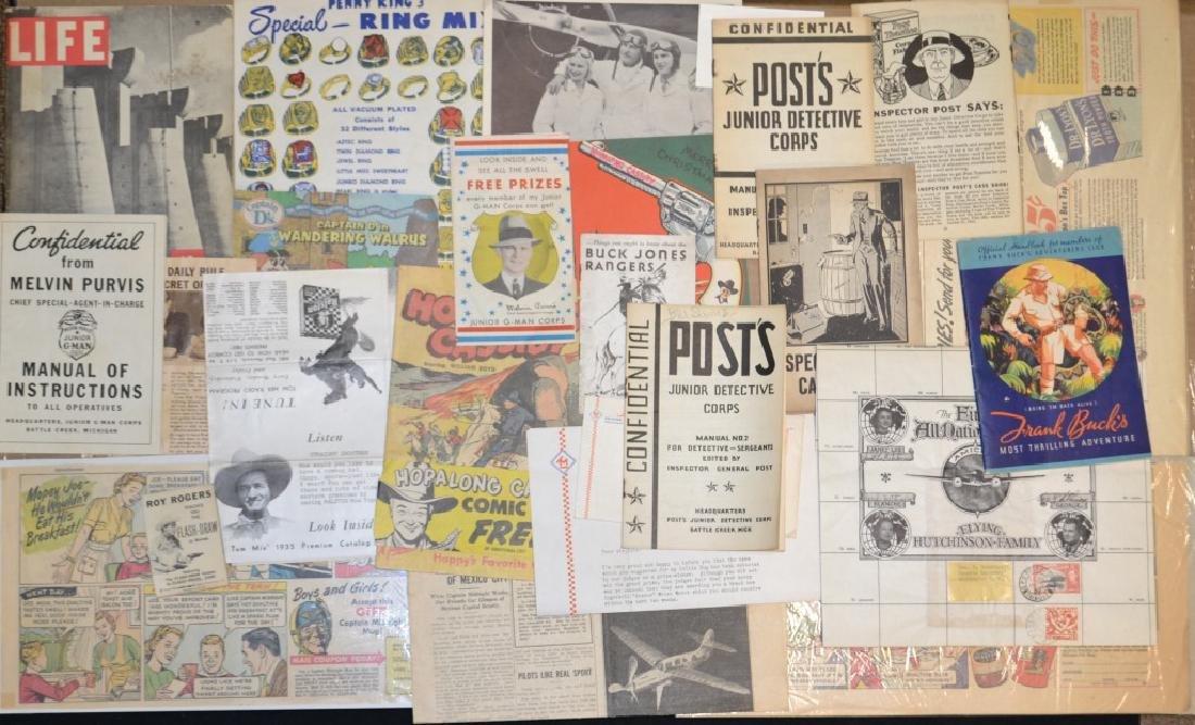 1930's, 40's, 50's Premium & Epherema Lot