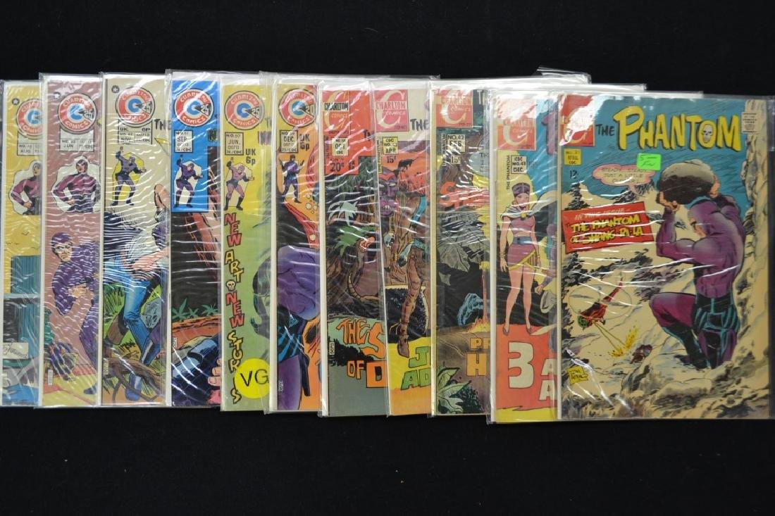 """33 """"The Phantom"""" Comic Books"""
