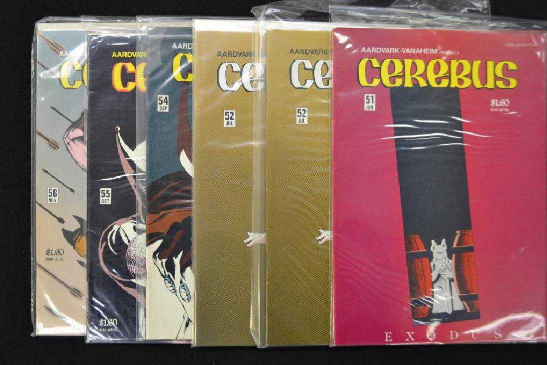 Approx. 30 'Cerebus' Comics
