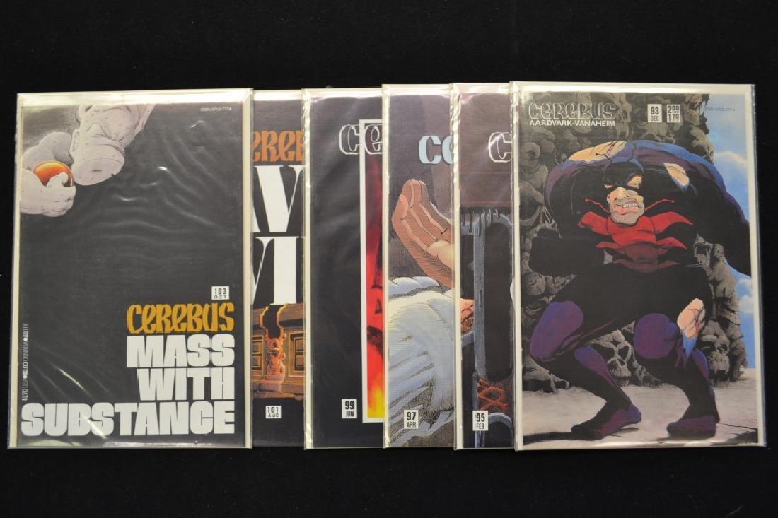 "45 ""Cerebus"" Comics"