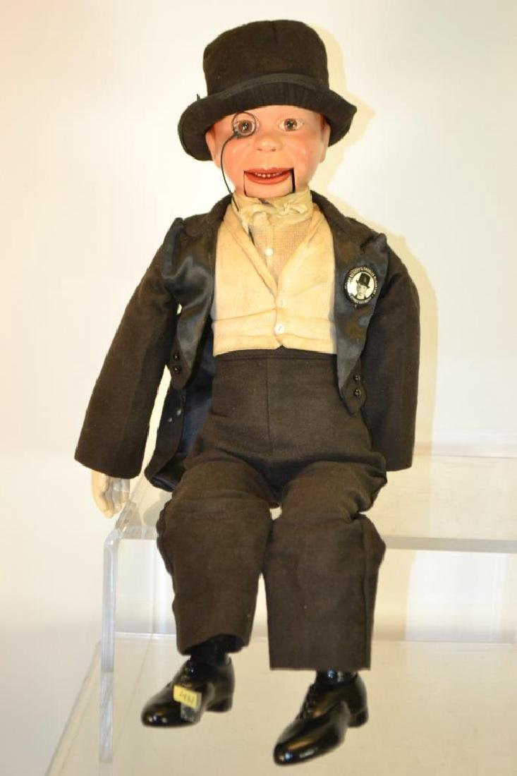 1937 Charlie McCarthy Dummy Ventriloquist Doll