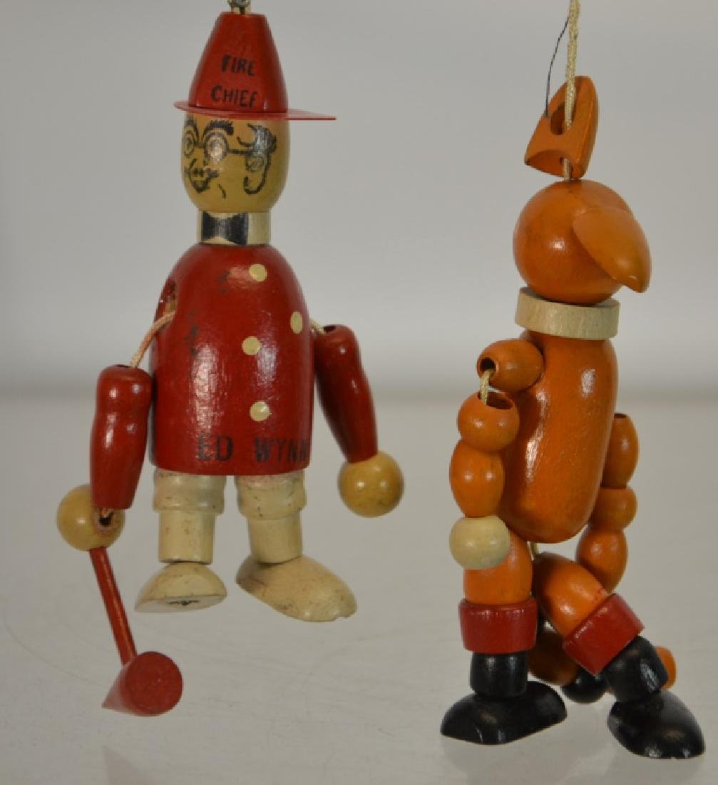 2 Jaymar Wooden String Toys