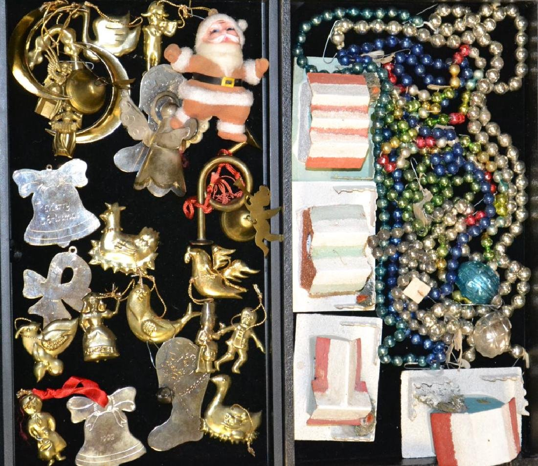 Collection of 1930's & 40's Christmas Ornaments