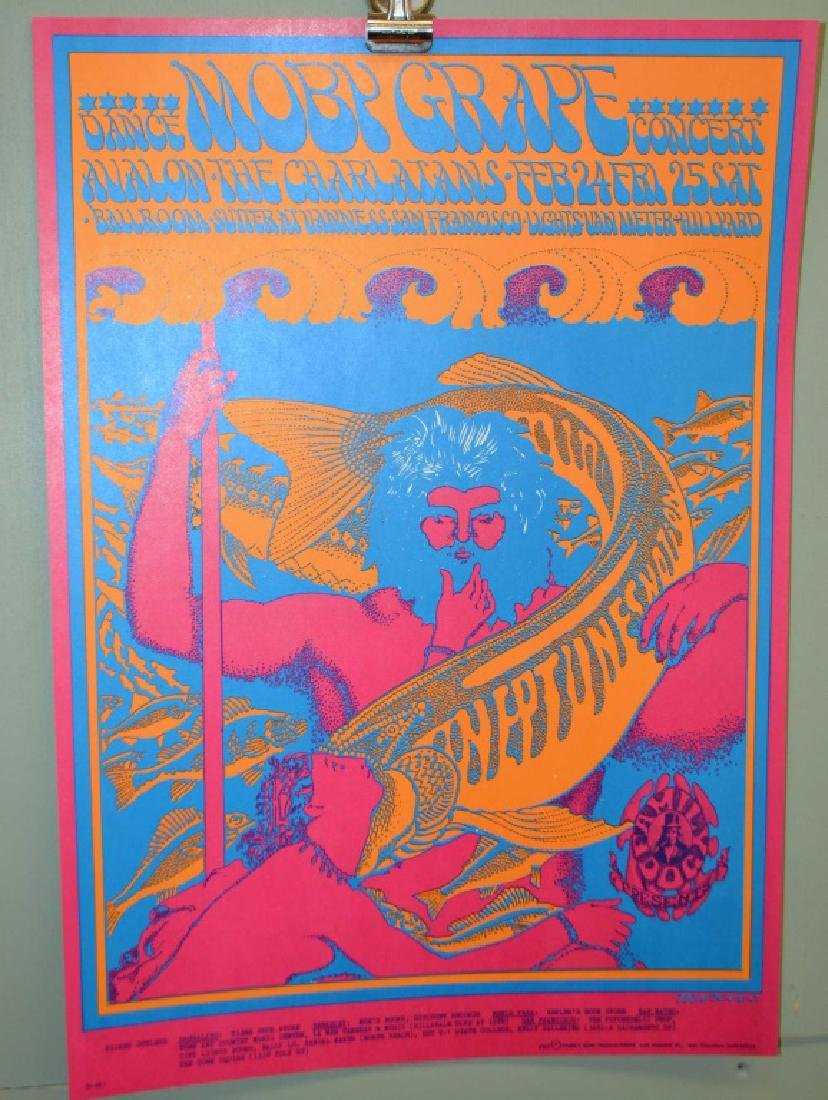 Three Moby Grape Posters - 2