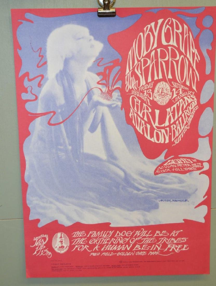 Three Moby Grape Posters - 3