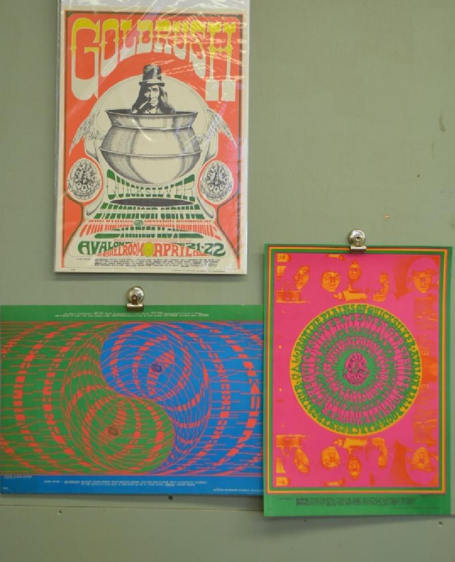 Three Quicksilver Posters