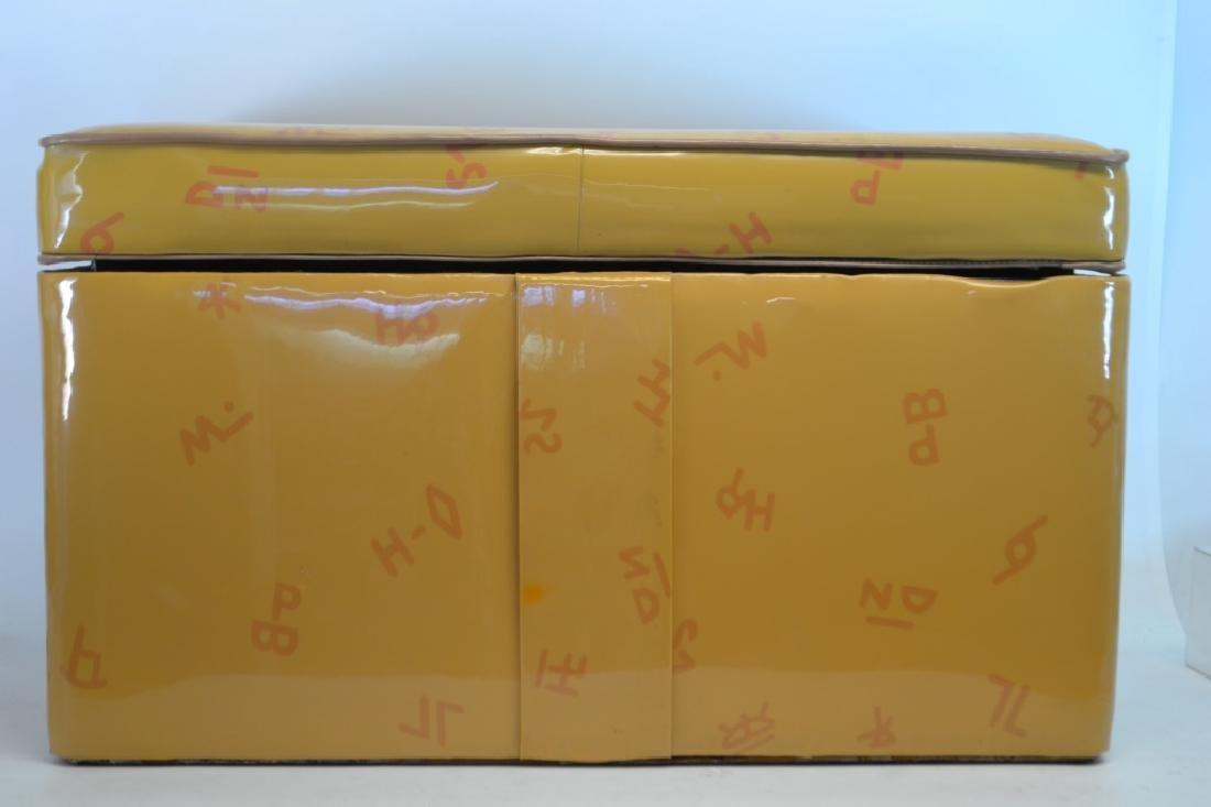 1950's Vinyl Cowboy Toy Box - 3