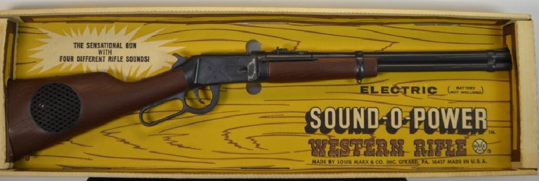 Louis Marx & Co. Sound - O - Power Western Rifle