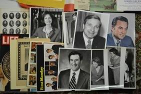 Large Collection Political Photographs & Epherema