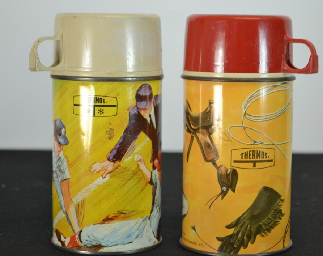 Two 1960's Thermos, by King - Seeley