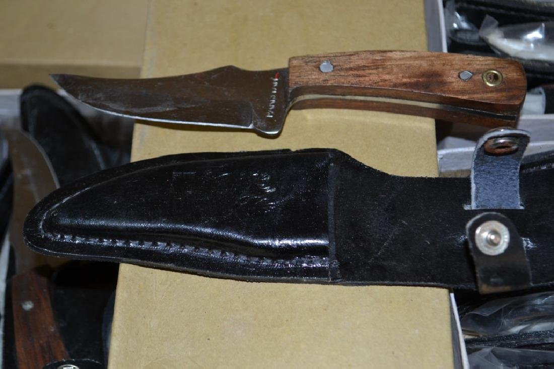 Approx. 1 Dozen of Boot Knives & Leather Sheaths - 2