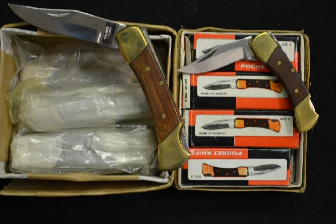 """(6) Pocket knives & (12) 3"""" Pocket Knives"""