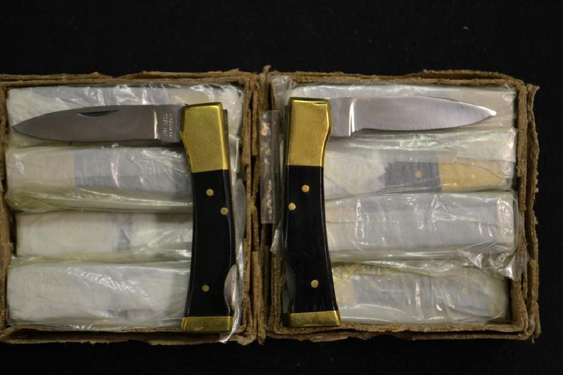 Approx. 24 Black Handled Pocket Knives