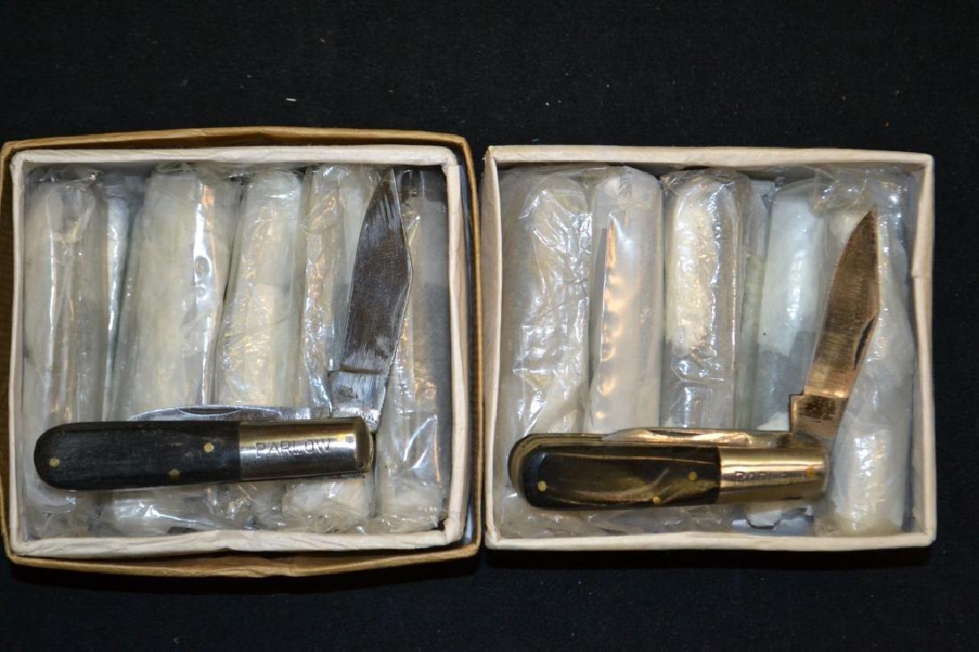 Approx. 24 Barlow Pocket Knives