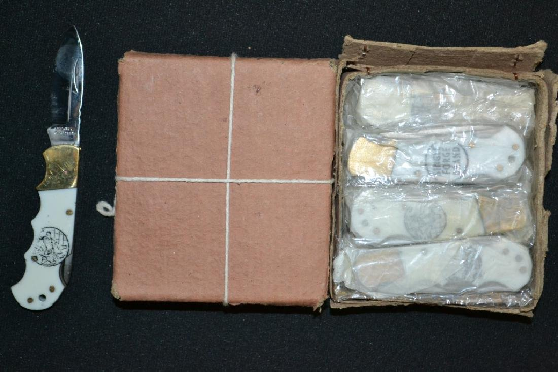 Approx. 24 Single Forge Blade Pocket Knives