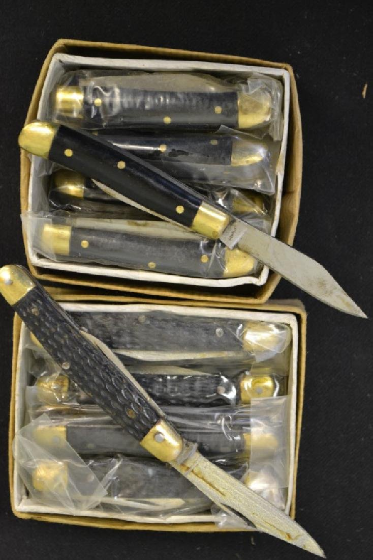 2 Dozen Folding Pocket Knives