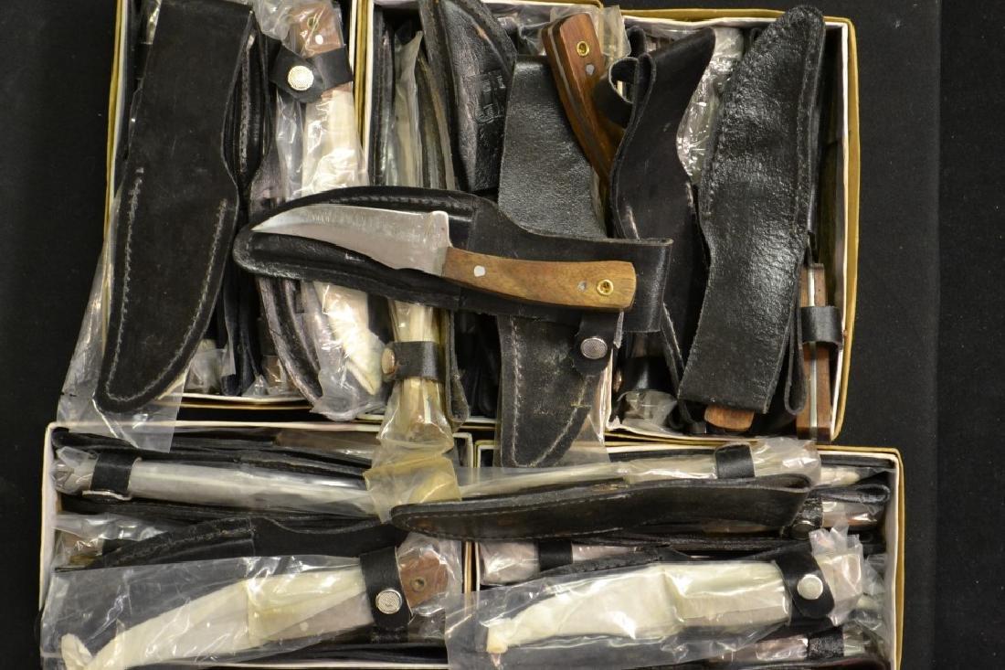 Approx. 36 Sheath Pakistani Boot Knives