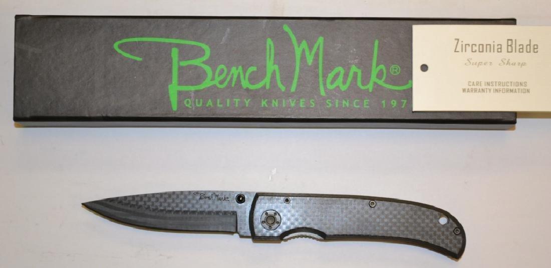 Bench Mark Ceramic Folding Knife