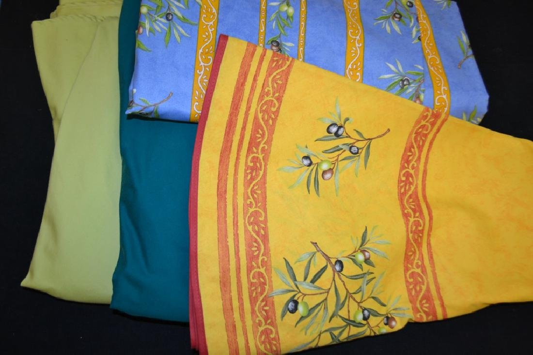 Four High Quality French Table Cloths