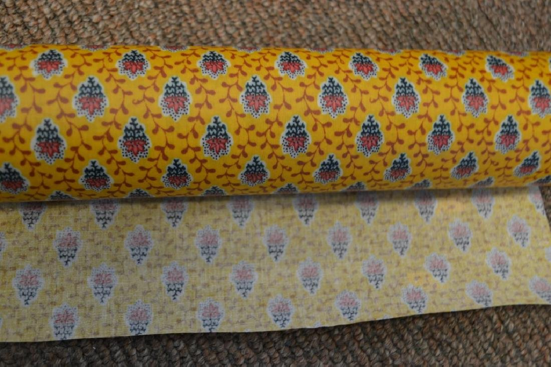 Two Valdrome French Table Cloth Material - 2