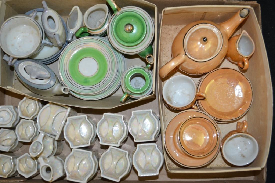 Multiple Children's Tea Sets