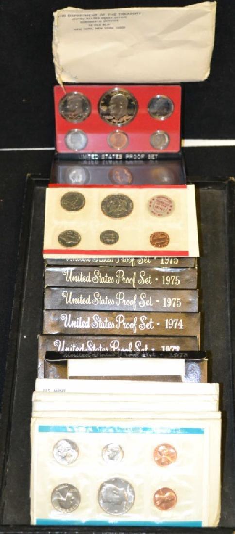 (16) 1970's Mint & Proof Sets