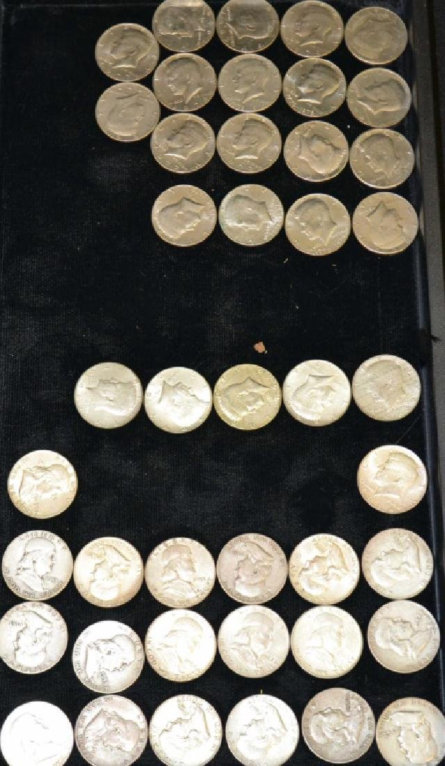 Grouping of US Half Dollar, Silver and Non Silver