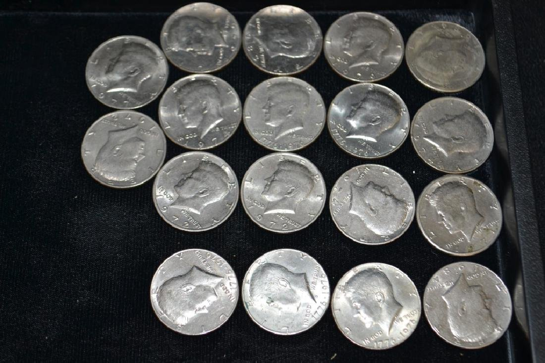 Grouping of US Half Dollar, Silver and Non Silver - 2