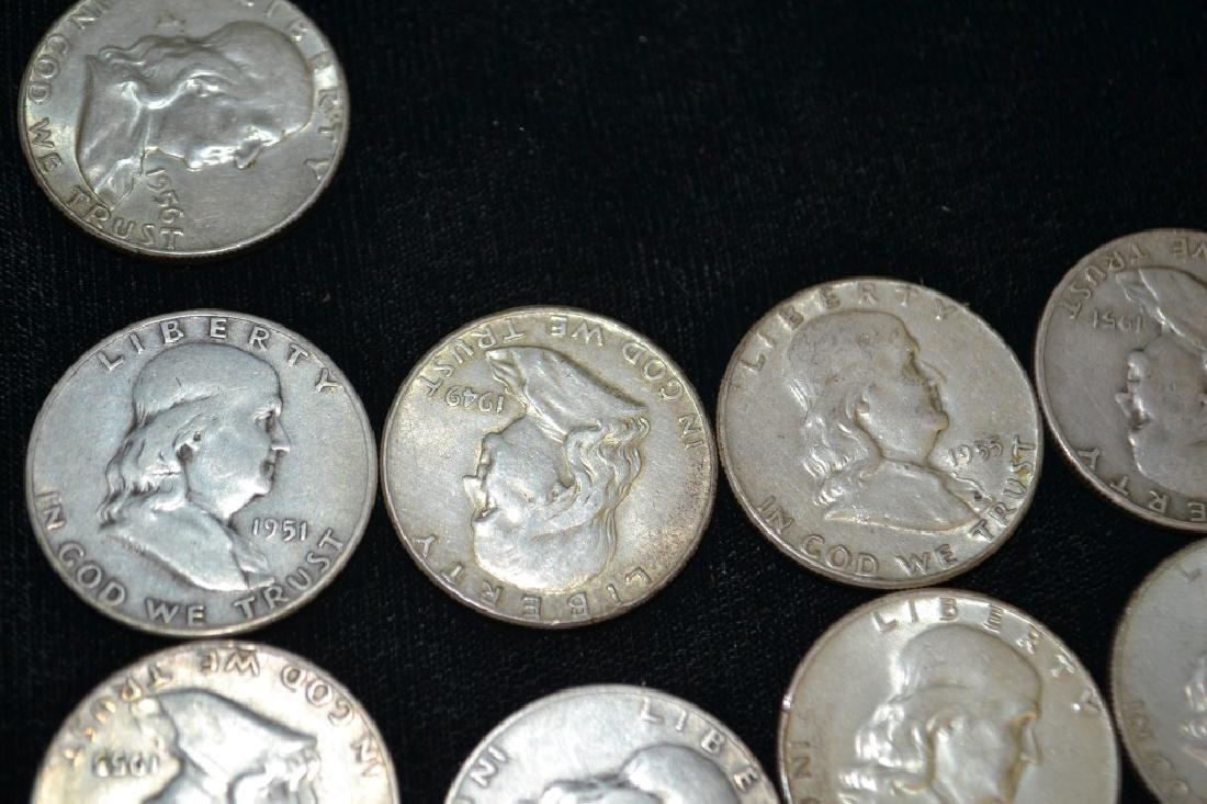 Grouping of US Half Dollar, Silver and Non Silver - 3