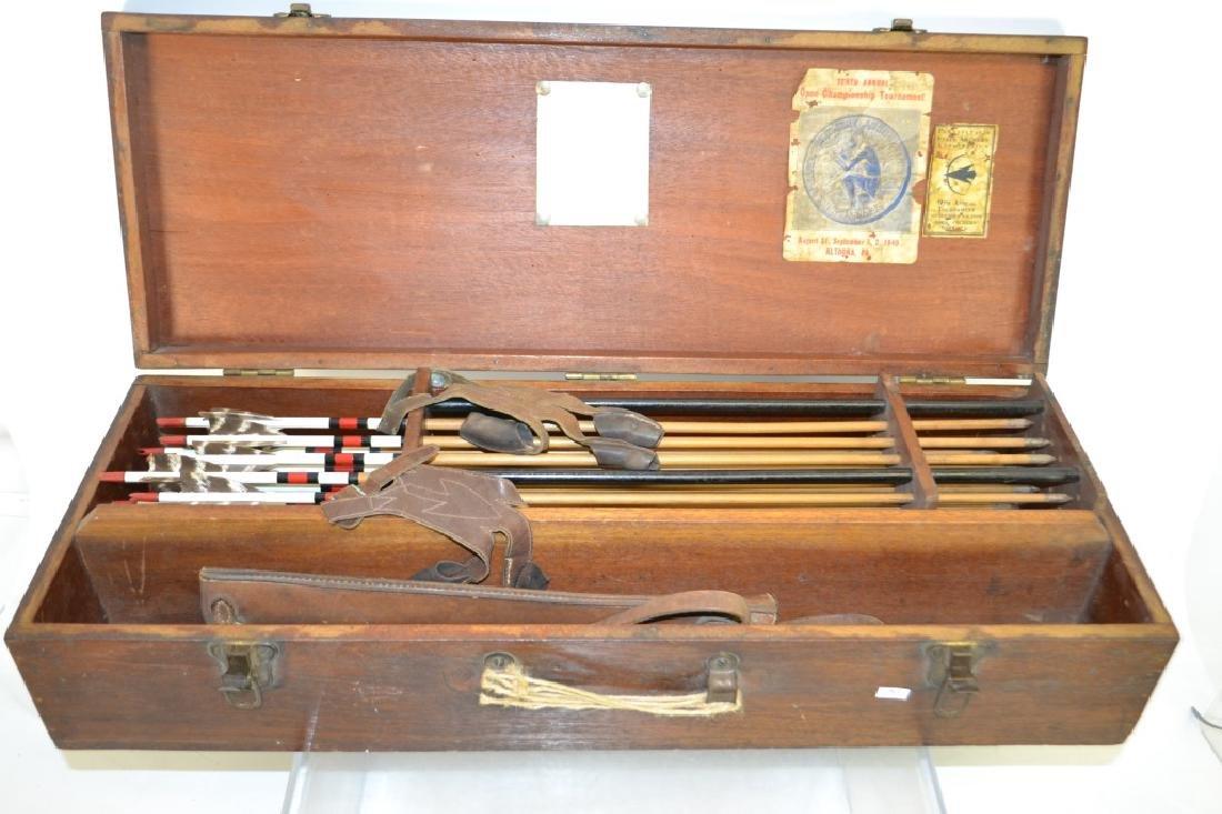 Early 20th C Archery Set - 4