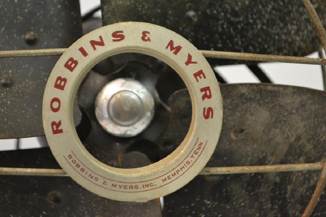 1st half 20th Robbins & Myers Oscillating Fan