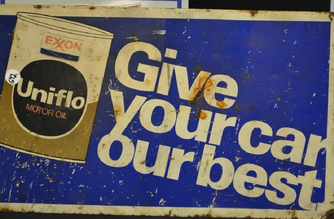 Metal Sign Advertising Grouping