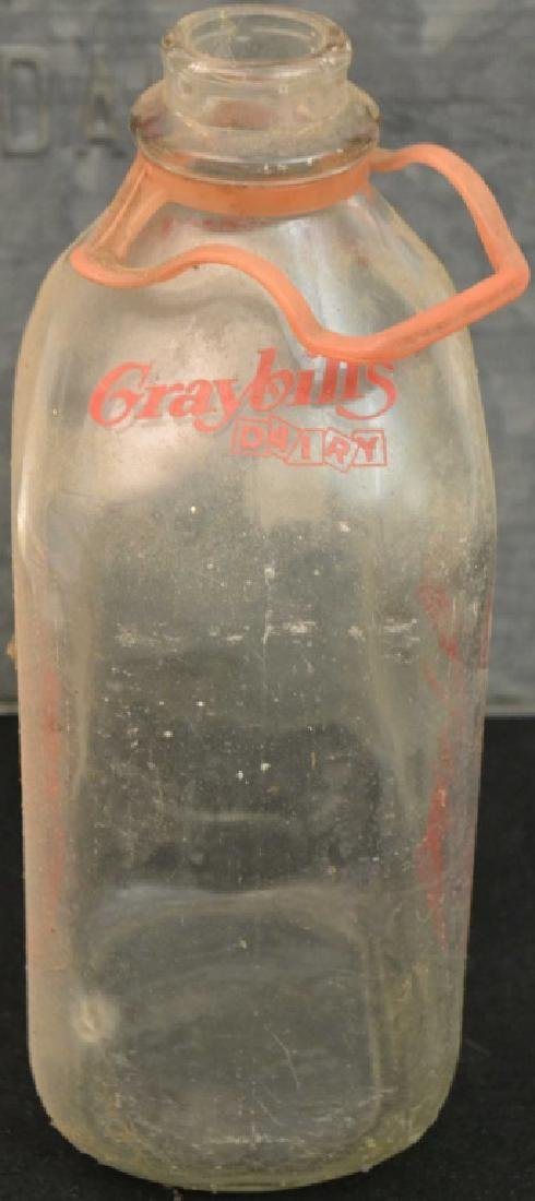 Early 20th C Milk Box, Graysbill's Dairy - 2