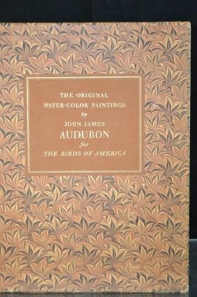 The Original Watercolor Paintings by J.J. Audubon