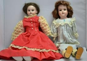 German Bisque Doll Grouping