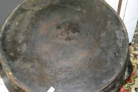 Early 20th C Wapak Cast Iron Frying Pan