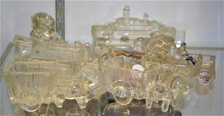 Vintage Glass Candy Containers