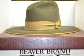 """"""" Beaver Brand Hat"""" OB"""