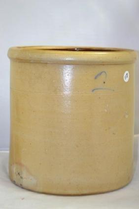 2 Gallon Stoneware Crock