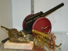 Brass & Tin Cannon Grouping