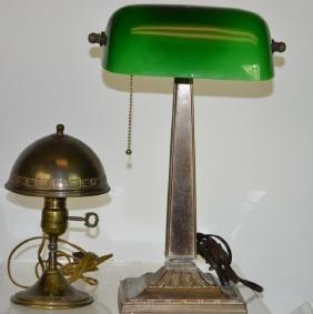 Vintage Desk Lamp Grouping