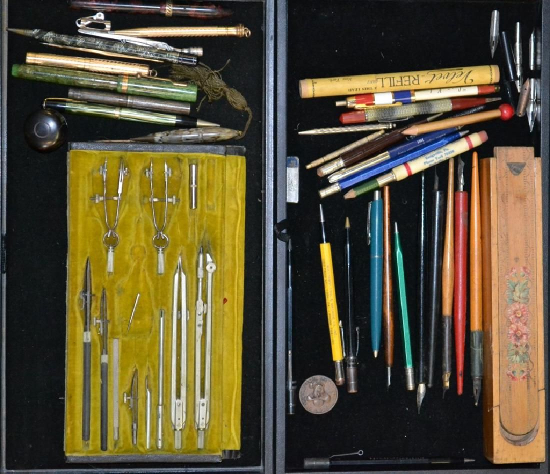 Grouping of Vintage Desk Items