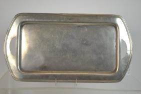 Large American Art Deco Pewter Serving Platter